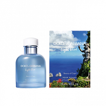 Dolce&Gabbana Light Blue Pour Homme Beauty in Capri