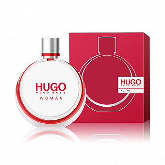 Hugo Boss Woman Eau de Parfum (красные, круглые)